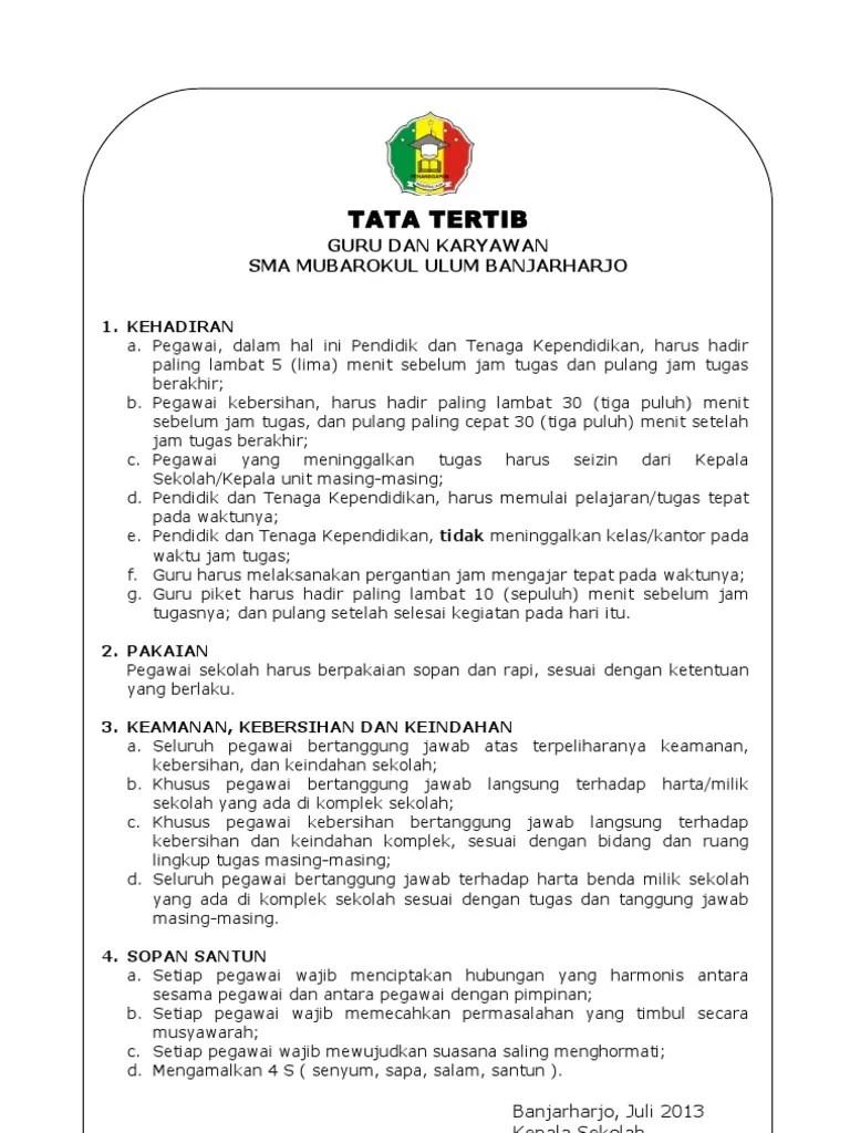 Tata Tertib DGB - Indonesia Universitas Indonesia
