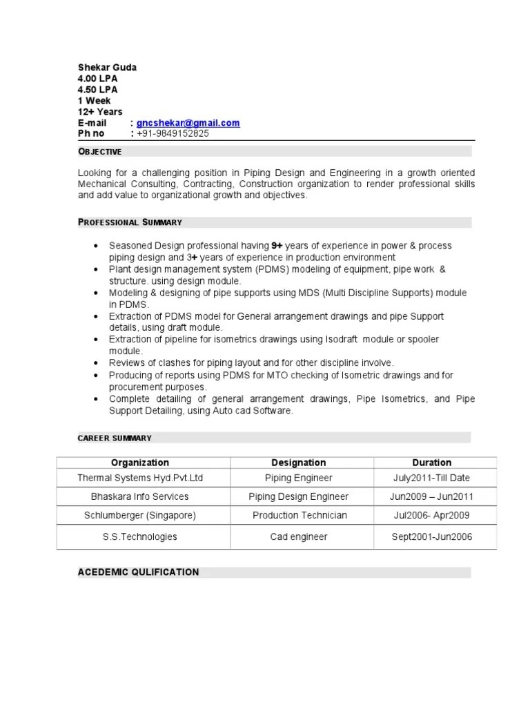 piping layout engineer jobs in singapore [ 768 x 1024 Pixel ]