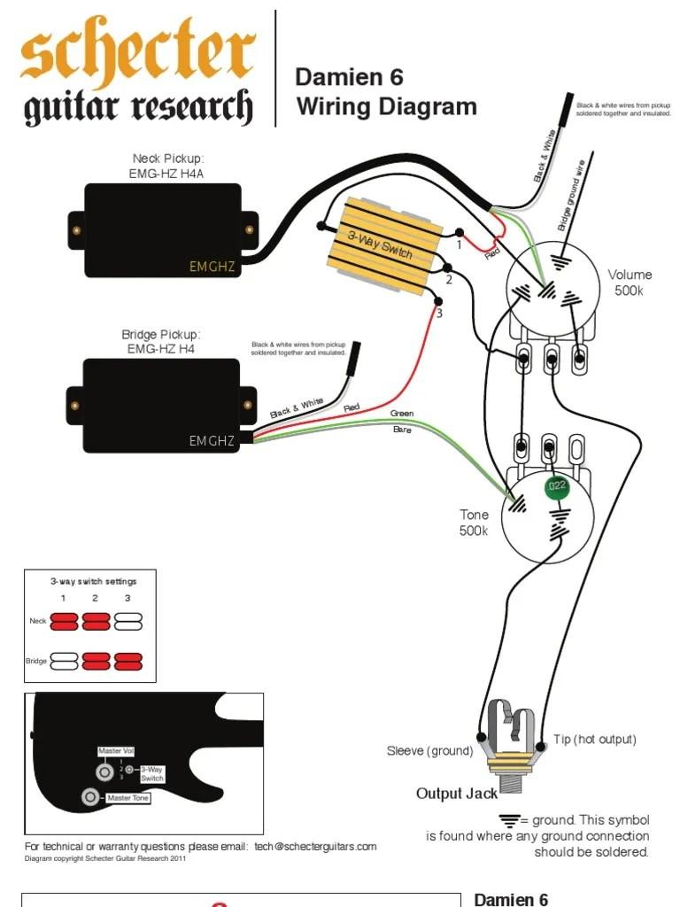 medium resolution of schecter damien 4 wiring diagram trusted wiring diagram stratocaster wiring diagram with 5 way switch alston with 5 way switch wiring diagram