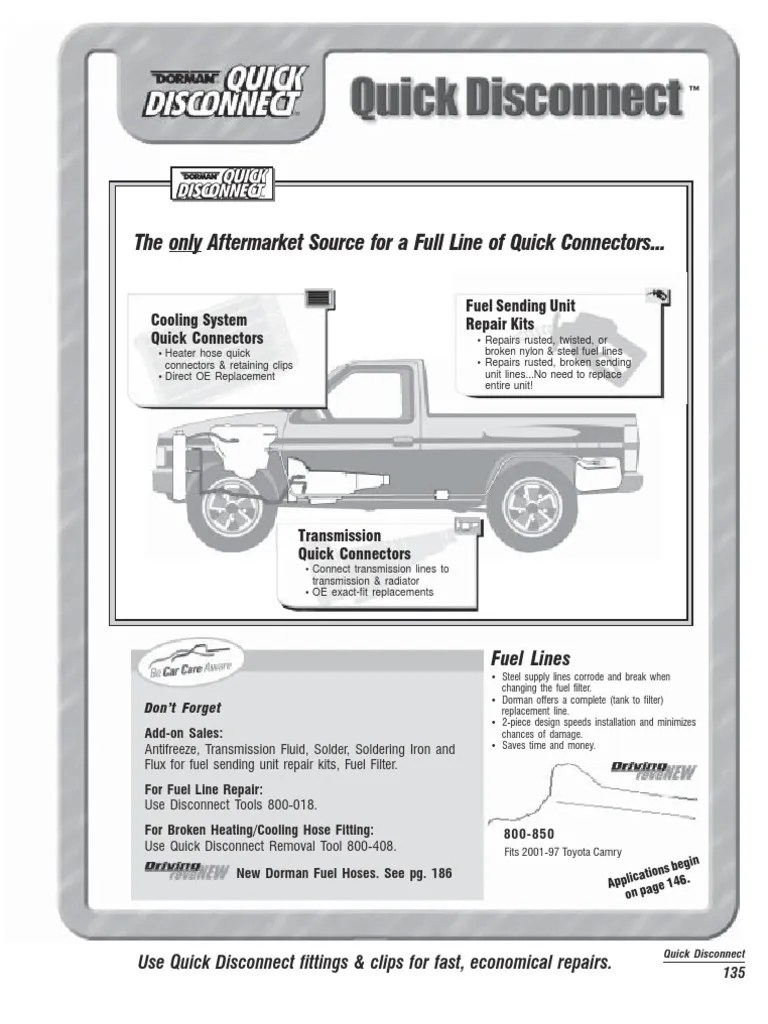 135 145quickdisconnectbuyersguide ford motor company transmission mechanics  [ 768 x 1024 Pixel ]