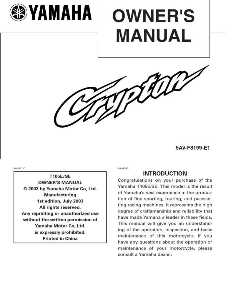 medium resolution of yamaha crypton r wiring diagram wiring database libraryyamaha crypton r wiring diagram wiring diagrams electrical crypton