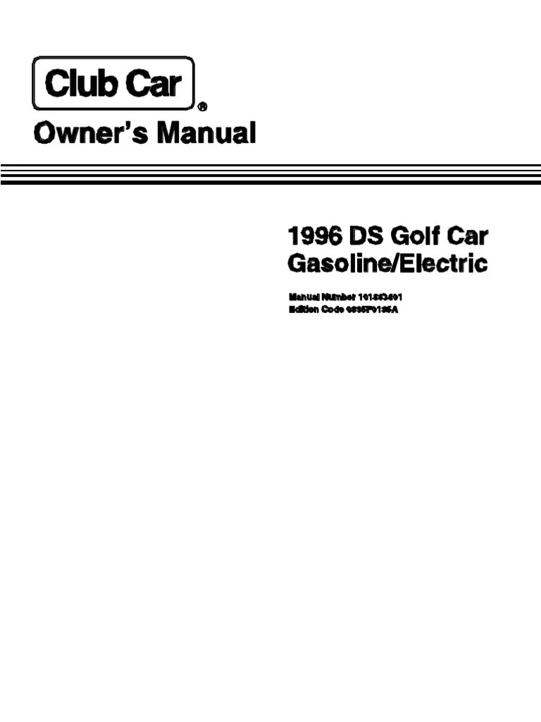 medium resolution of 1996 ga club car wiring diagram