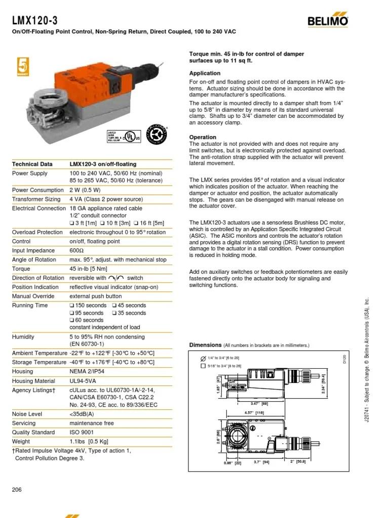 belimo actuator wiring floater [ 768 x 1024 Pixel ]