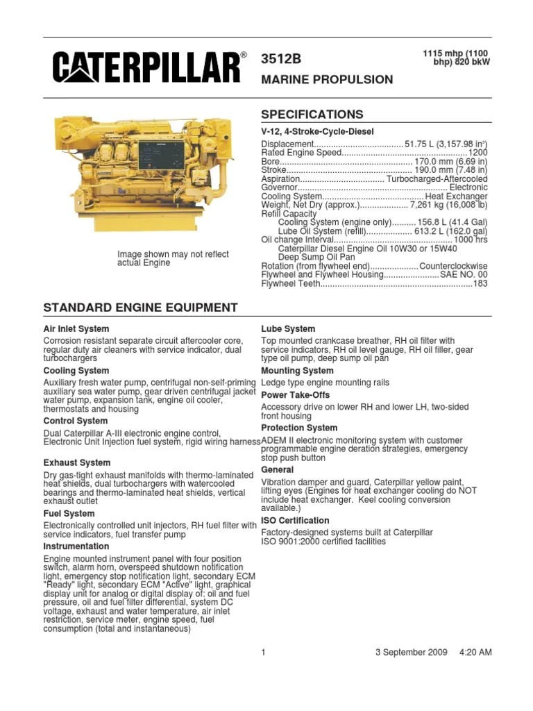 caterpillar 3512b engines internal combustion engine cat 3512 tier 4 cat 3512b wiring harness [ 768 x 1024 Pixel ]