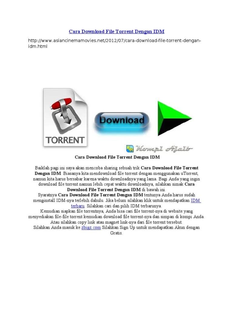 Cara Download File Torrent : download, torrent, Download, Torrent, Dengan