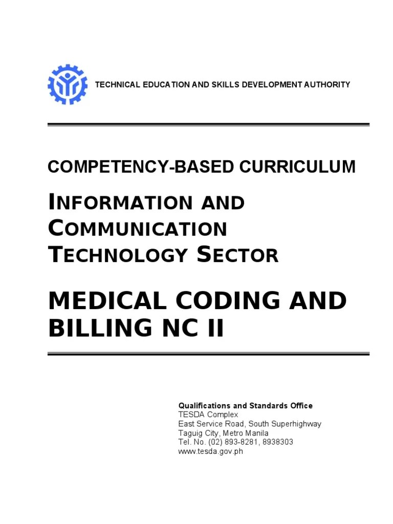 CBC-Medical Coding and Billing NC II   Occupational Safety And Health   Educational Assessment