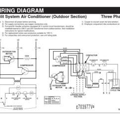 220 Volt Air Conditioner Wiring Diagram Single Wire Alternator Ac Data Diagrams Simple Cdi