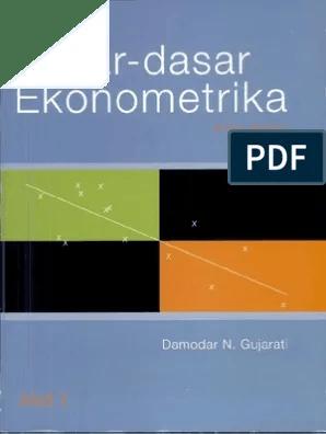 Dasar-dasar Ekonometrika Gujarati Pdf : dasar-dasar, ekonometrika, gujarati, Dasar, Ekonometrika
