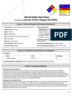 msds CuSO4.5H2O | Personal Protective Equipment | Solubility