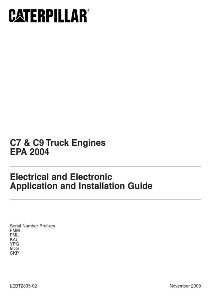hight resolution of c7 caterpillar wiring diagram for