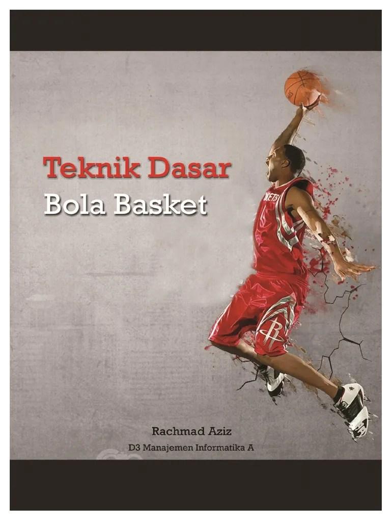 Teknik Bermain Bola Basket : teknik, bermain, basket, Teknik, Dasar, Basket