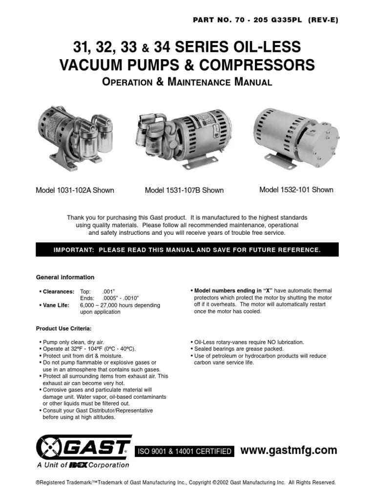 medium resolution of gast motor wiring diagram