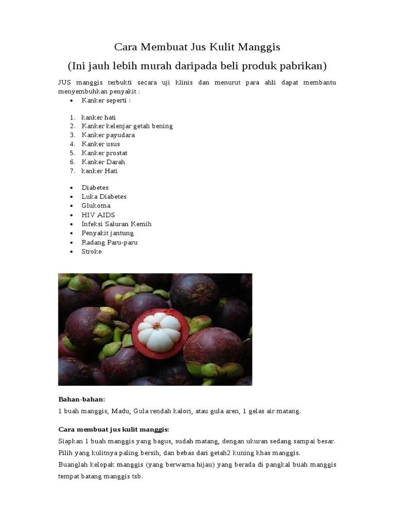 Cara-Cara Buat Jem Homemade Guna Durian, Manggis, Rambutan