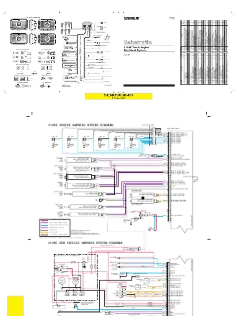 medium resolution of 99 cat 3126 starter wiring diagram