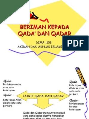 Qada Dan Qadar : qadar, Beriman, Kepada, Qadar, Converter, Qkyn.beadvunak.site