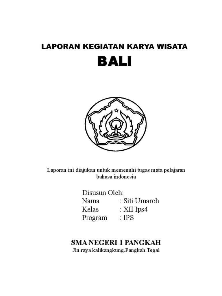 Karya Tulis Study Tour Bali : karya, tulis, study, Karya, Tulis