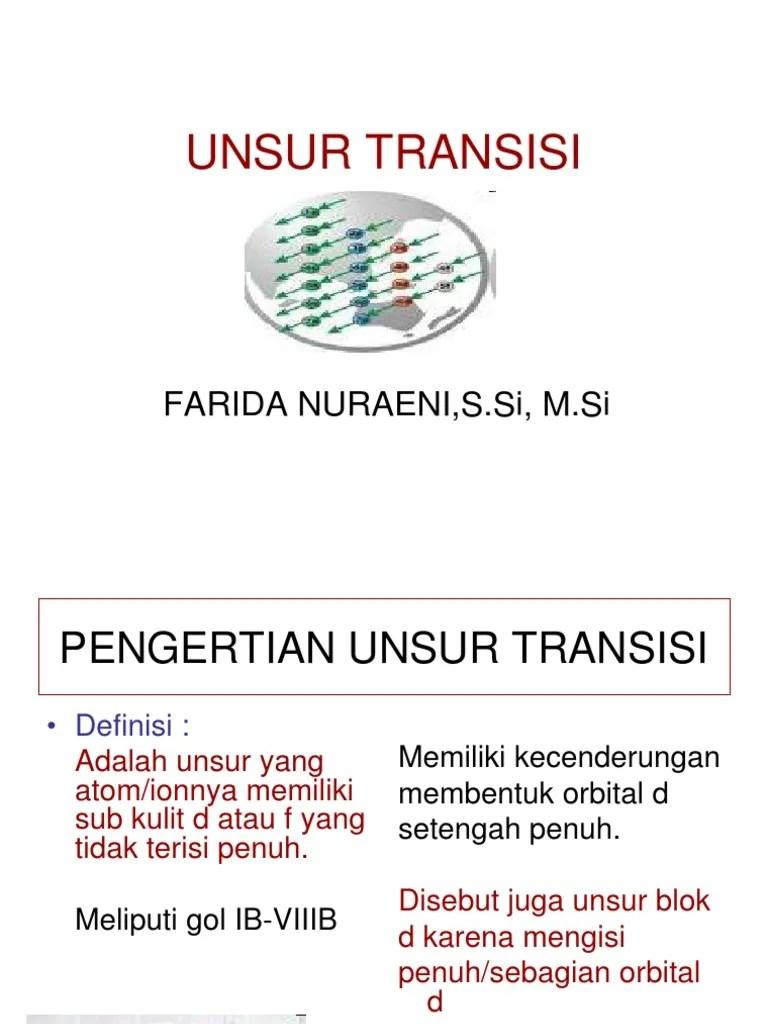 Pengertian Transisi : pengertian, transisi, Pengertian, Unsur, Transisi