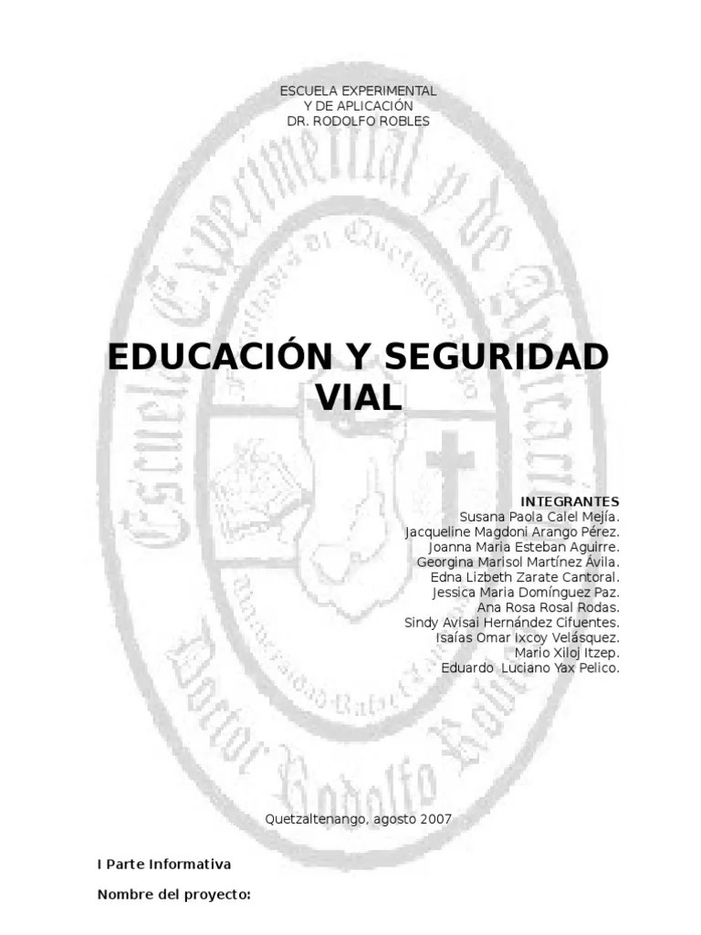 267065 Educacion y Seguridad Vial 6 Mag