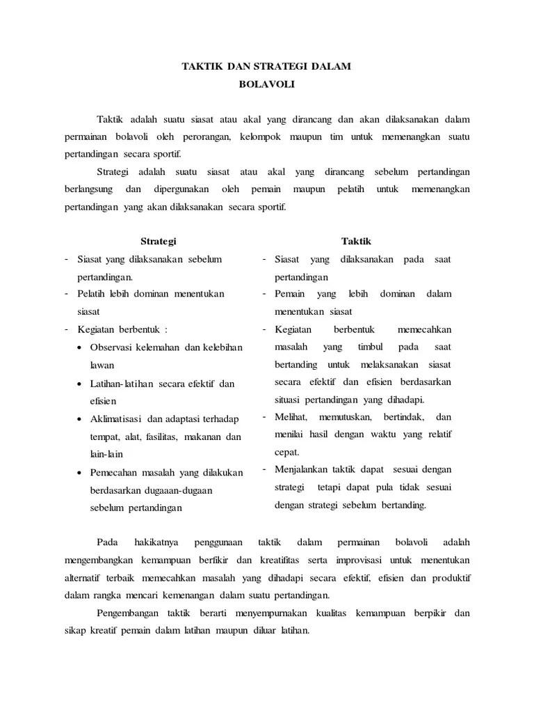 Permainan BOLA VOLI: Pengertian, Peraturan, Teknik Dasar
