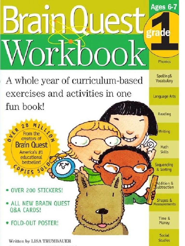 small resolution of Brain Quest Workbook--Grade 1.pdf