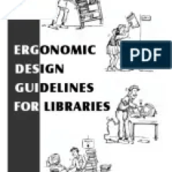 Ergonomic Chair Design Guidelines Glider Covers Canada For Libraries Final Pdf Human Factors And Ergonomics Anatomical Terms Of Motion