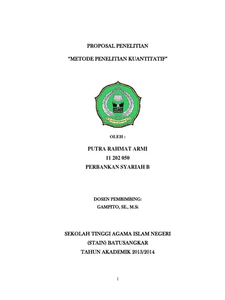 Jurnal Skripsi Akuntansi Syariah - Contoh Surat