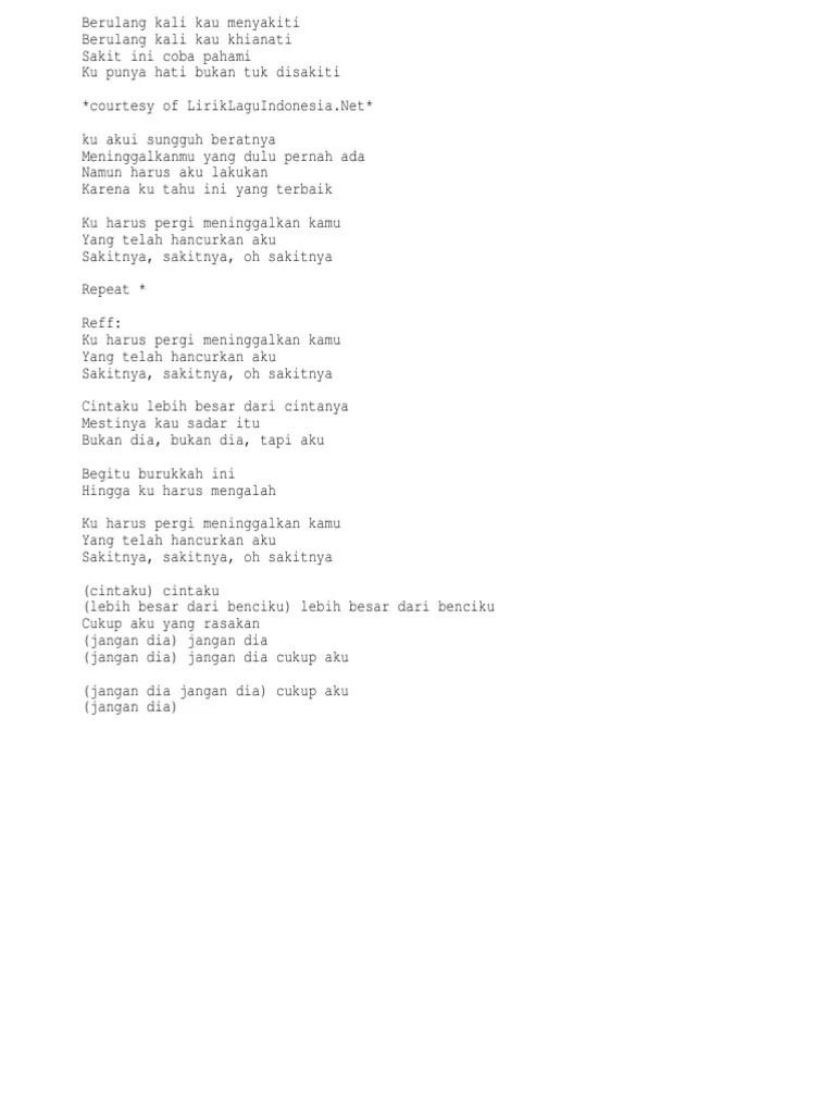 Lirik Bukan Dia Tapi Aku : lirik, bukan, Judika, Bukan, Aku.txt