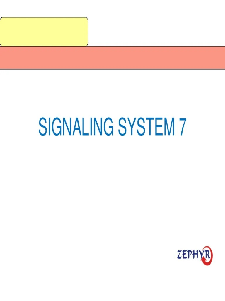 Chap 07 SS7 Network [Compatibility Mode] - Copy   Signaling (Telecommunications)   Computer Network   Free 30-day Trial   Scribd