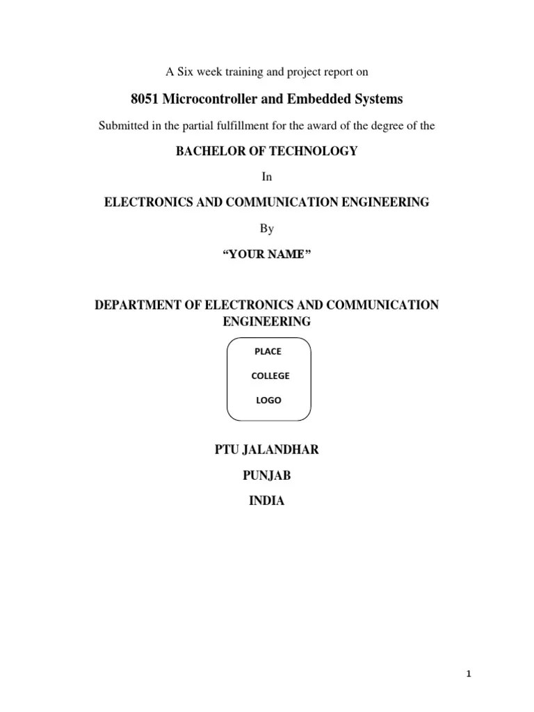 embedded system using 8051 microcontroller embedded system microcontroller [ 768 x 1024 Pixel ]