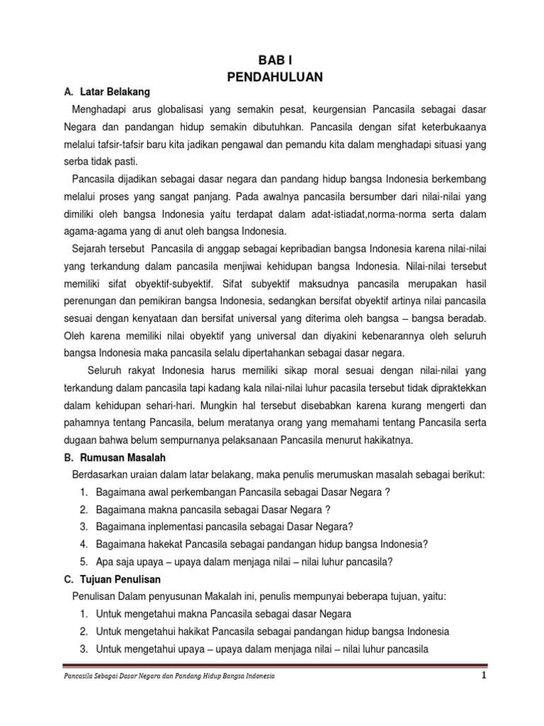 Perbedaan Arti Pancasila Sebagai Dasar Negara Dan Pandangan Hidup : perbedaan, pancasila, sebagai, dasar, negara, pandangan, hidup, Pancasila, Sebagai, Dasar, Negara, Pandangan, Hidup, Bangsa, Indonesia