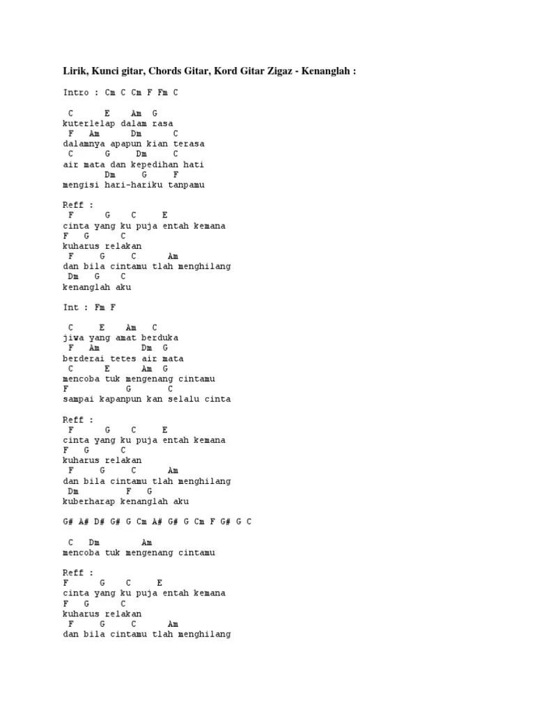 Lirik Lagu dan Kunci (Chord) Gitar 'Ku Puja Puja' - Kalia