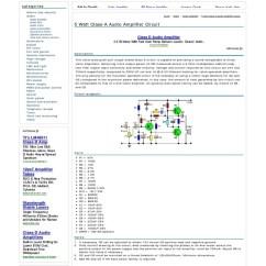 5000 Watt Amplifier Circuit Diagram R33 Rb25 Wiring 5 All Data Class A Audio And