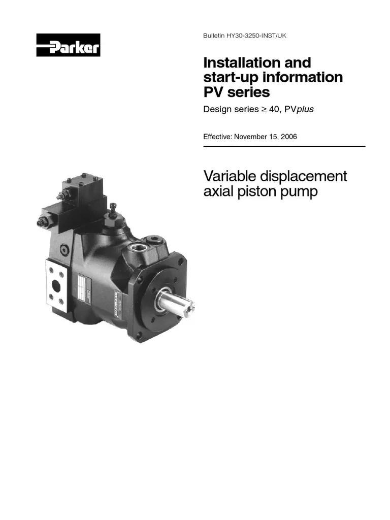 medium resolution of parker hydraulic pump wiring diagram