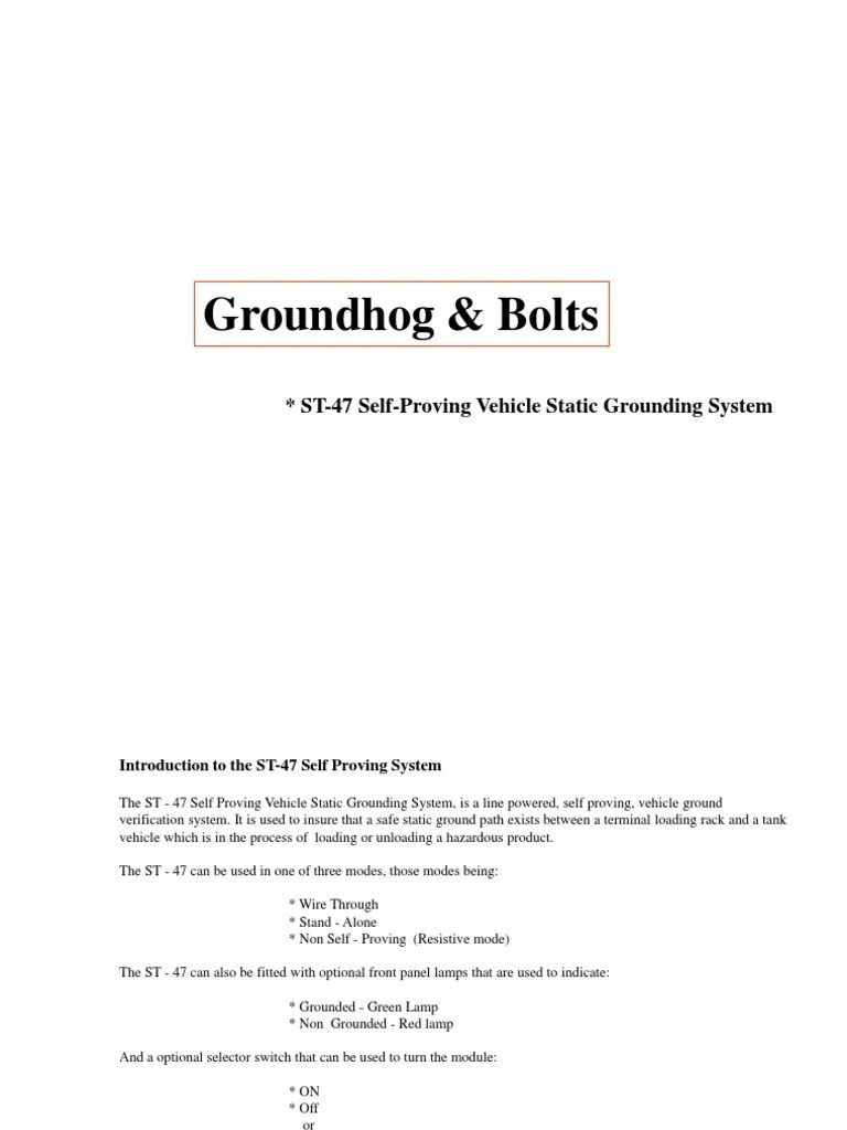 scully groundhog system wiring diagram [ 768 x 1024 Pixel ]