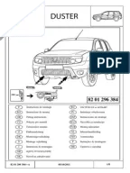 Dacia Duster Electrical Wiring Diagrams (German)