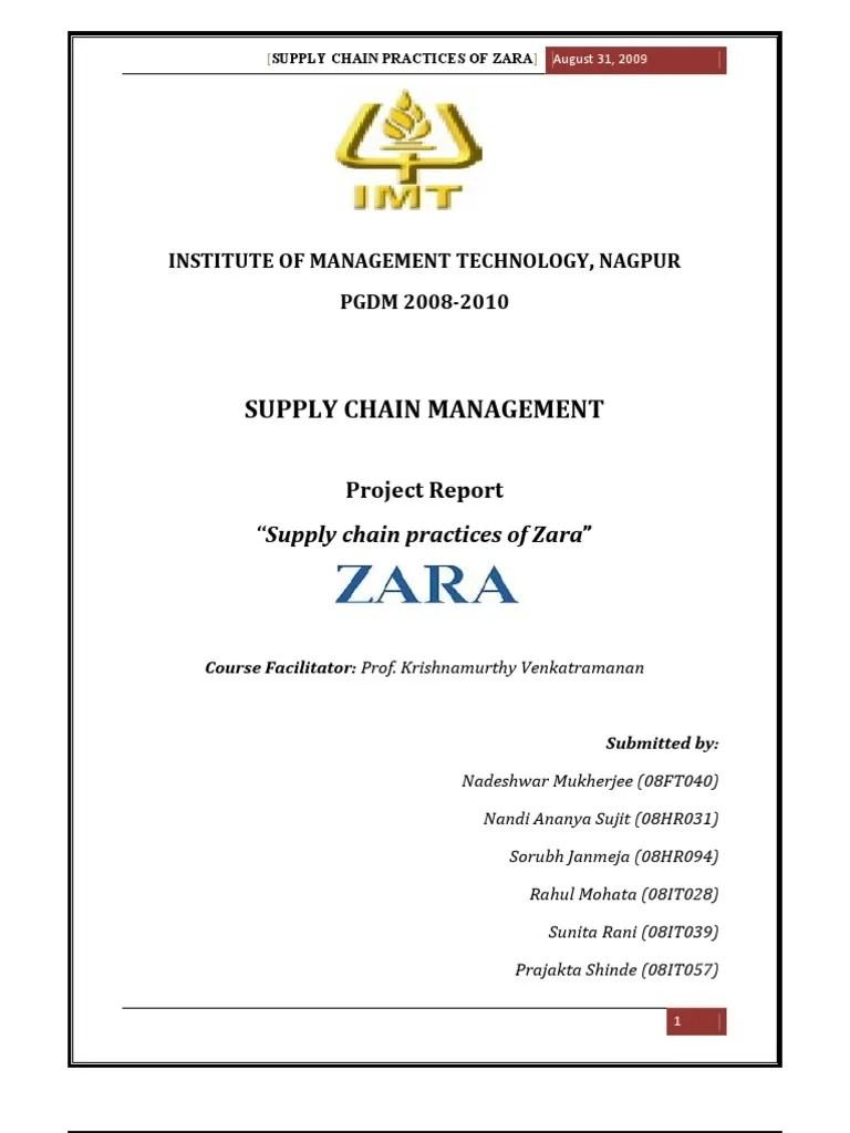 hight resolution of zara proces flow diagram