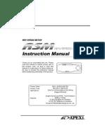 apexi rsm wiring diagram 2004 mitsubishi lancer apex i manual installation instruction