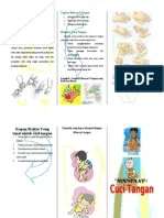 Leaflet Cuci Tangan : leaflet, tangan, Leaflet, Tangan