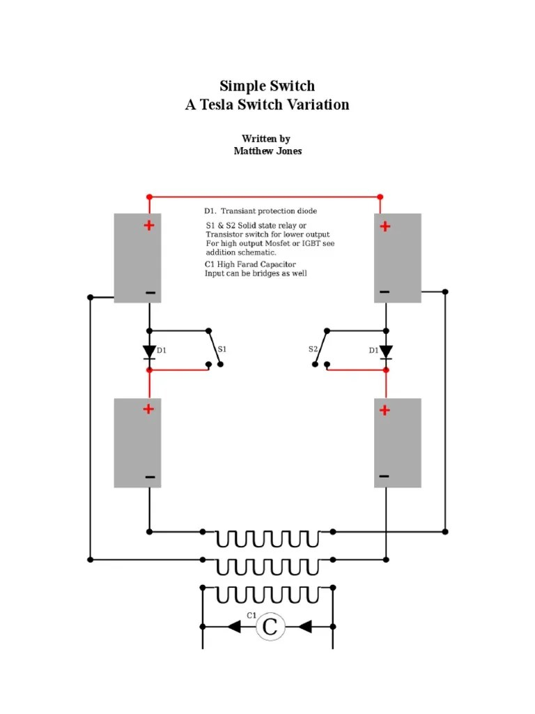 hight resolution of simple switch schematic