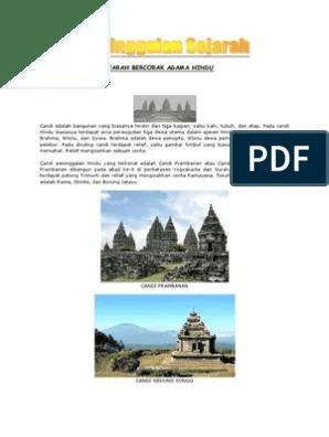 Peninggalan Bercorak Budha : peninggalan, bercorak, budha, Candi, Borobudur, Bercorak, Agama, Dalam