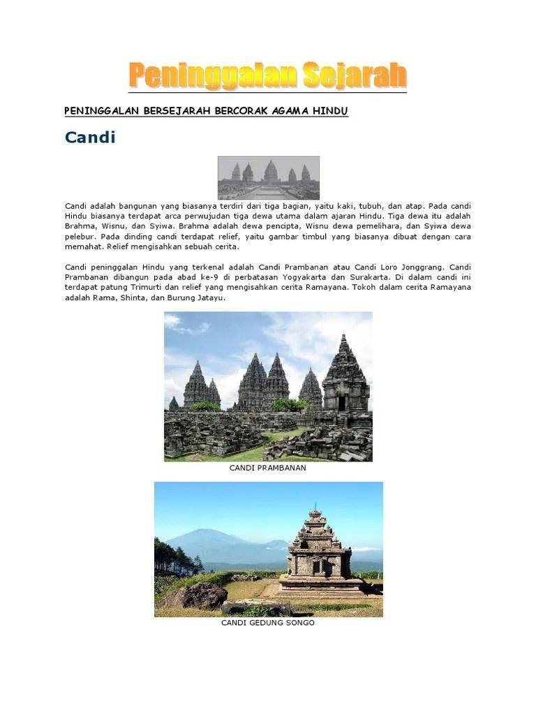 Peninggalan Kerajaan Hindu - Sejarah, Letak Dan Masa Kejayaan