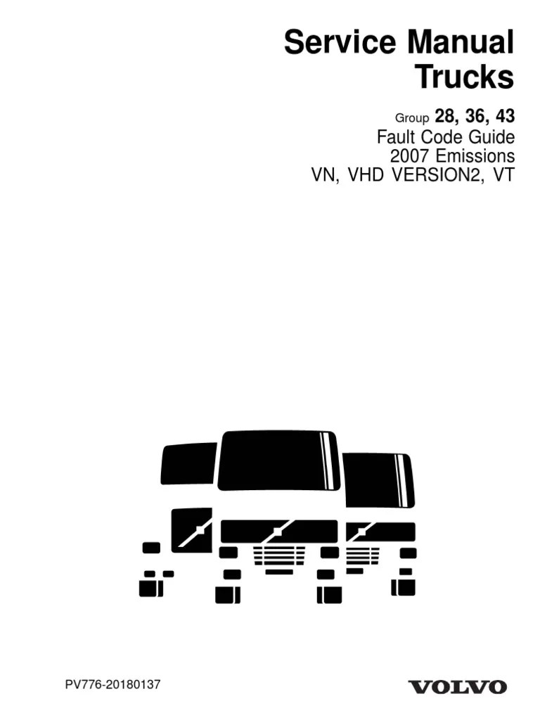 hight resolution of volvo truck trouble code