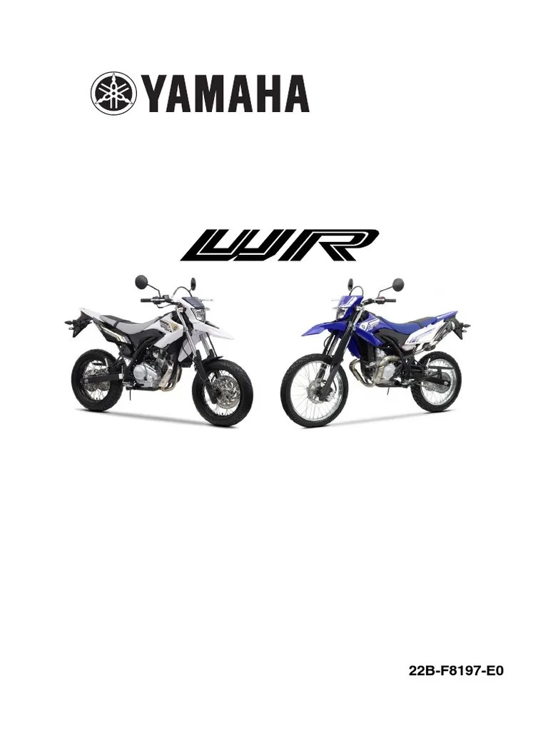 small resolution of yamaha wr125x wiring diagram