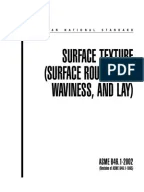 ISO 1302 DIN 4768 Comparison of Surface Roughness Values