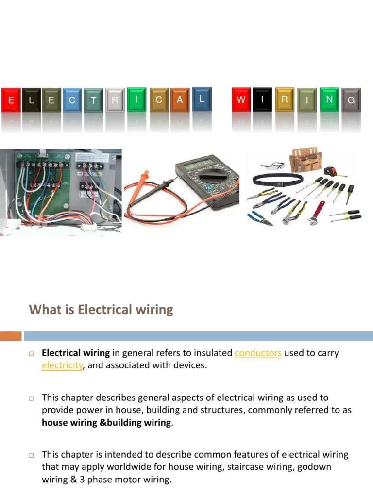 small resolution of application of godown wiring