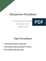 Manajemen Persediaan Ppt : manajemen, persediaan, Manajemen, Persediaan.ppt