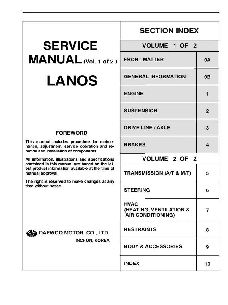 small resolution of 2001 daewoo lano wiring diagram