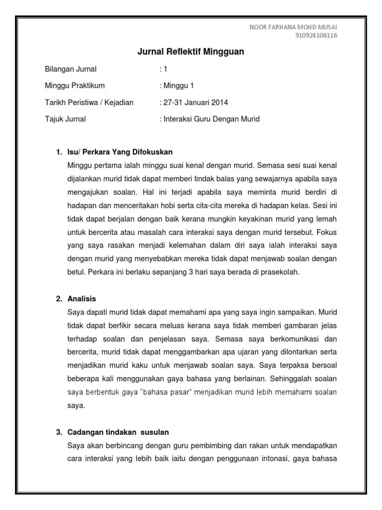 Contoh Penulisan Jurnal Praktikum Cute766