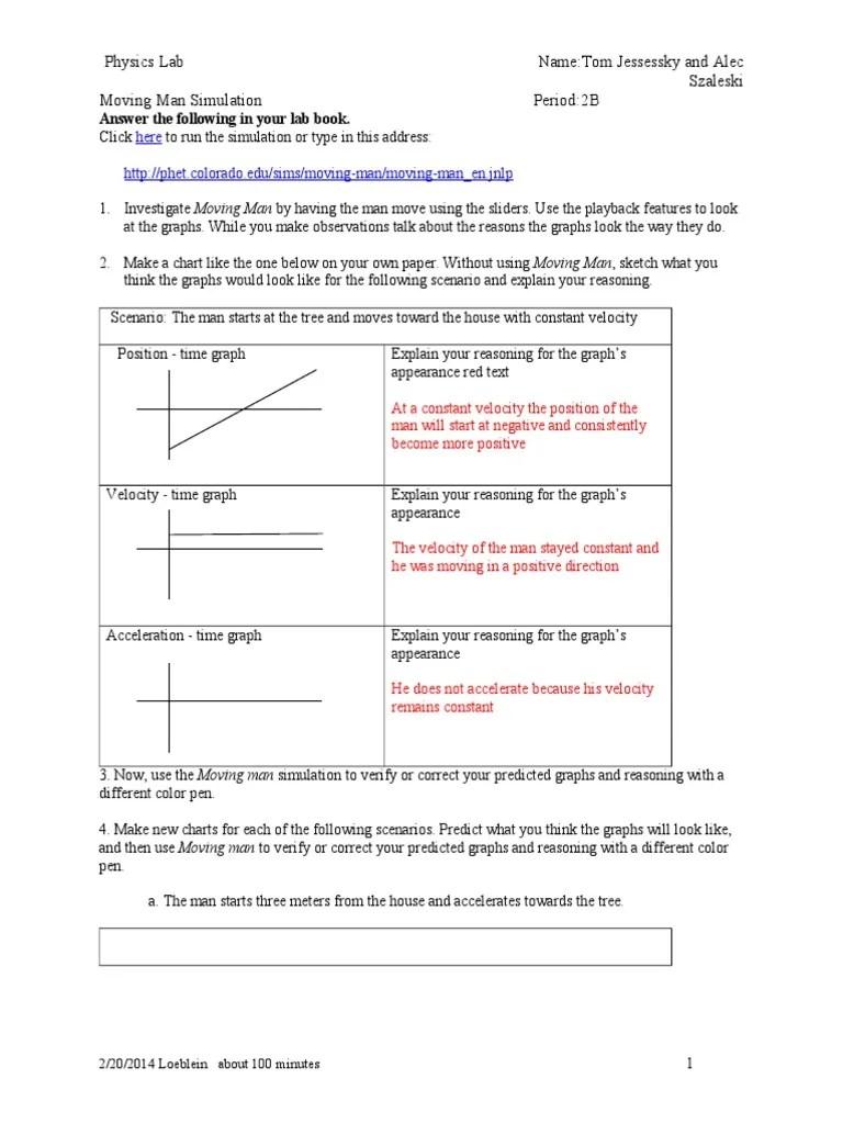 Moving Man Simulation Answers : moving, simulation, answers, Moving, Worksheet, Answers, Nidecmege