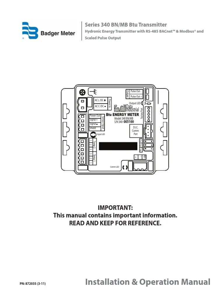 medium resolution of btu meter diagram